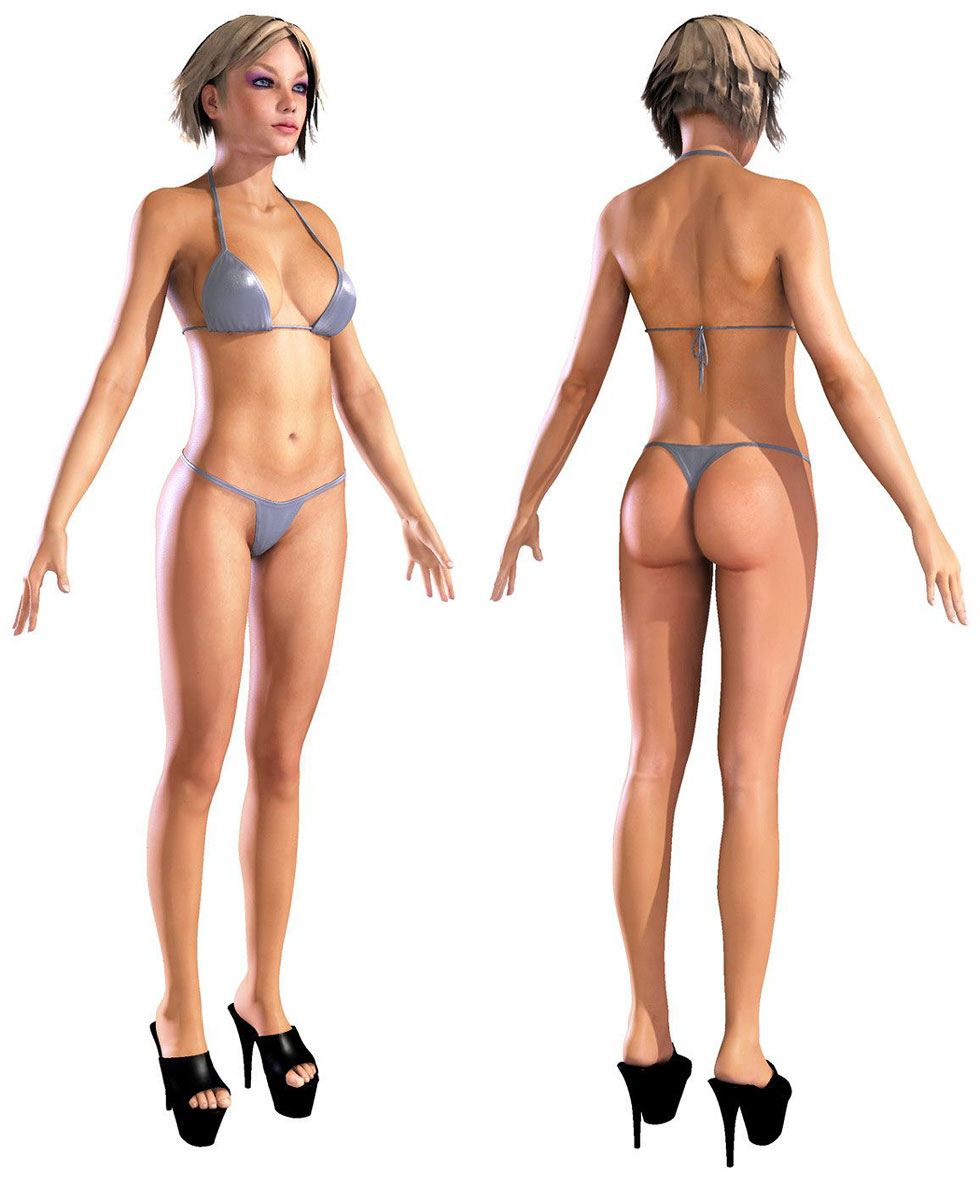 3D Strippers From Video Games  Continue To Look More And More Realistic As CGI Technology Improves