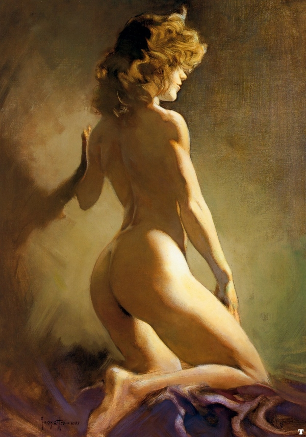 Hot Nude Girl Painting