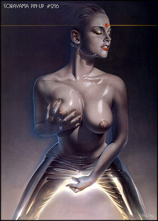 Sleek And Sexy Erotic Art