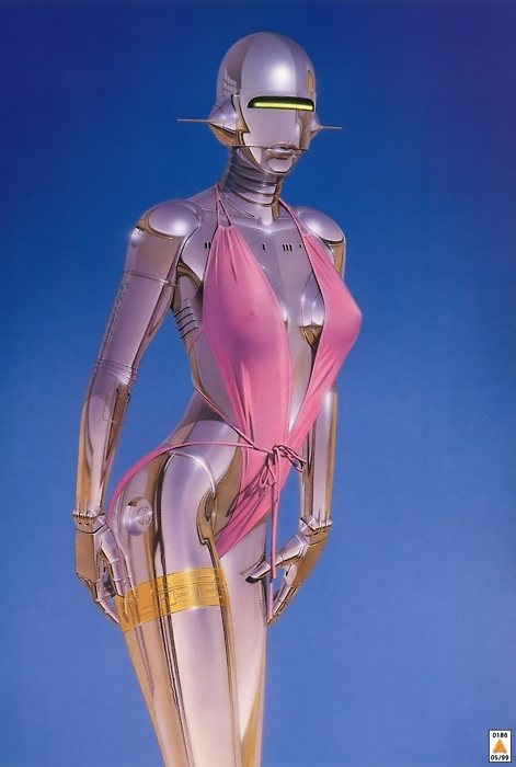 Erotic Female Robot Art