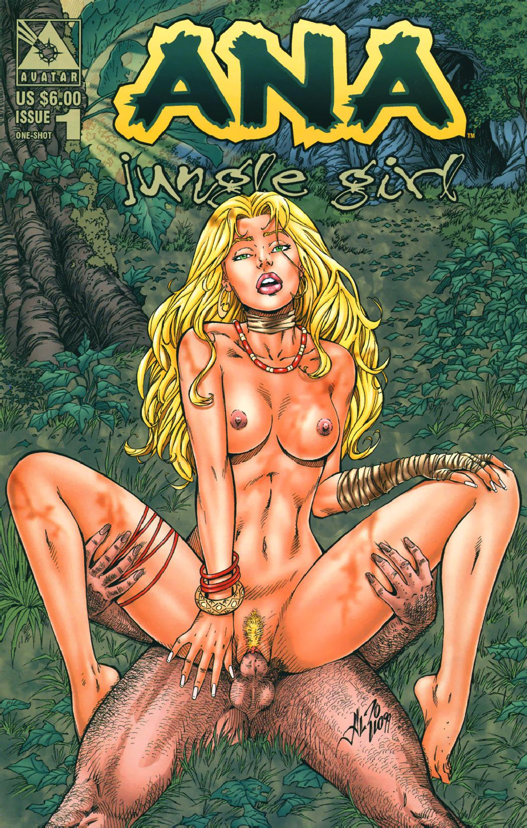 Jungle Girl Comic Sex