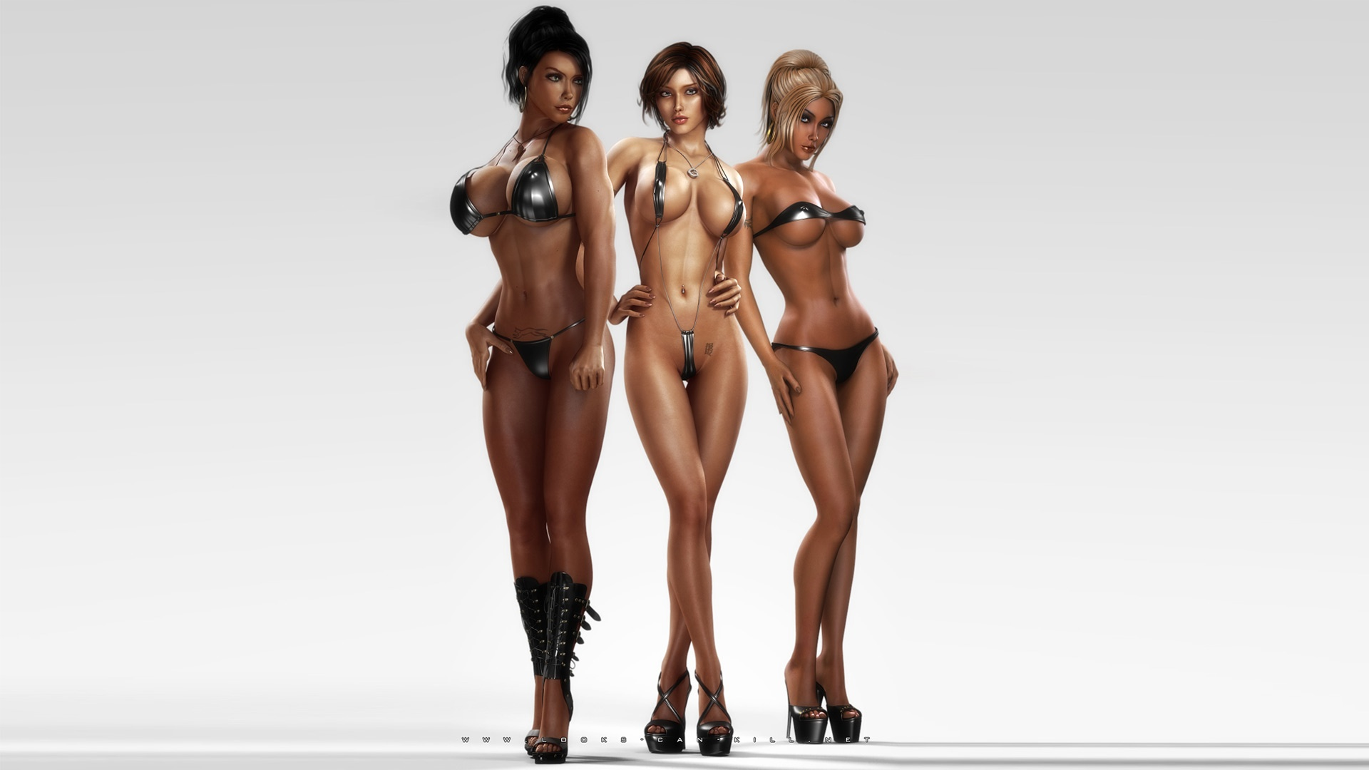 Sexy babes in nude 3d games download naked clips