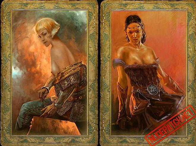 The Erotic Art Style Changes From Card To Card But The Look And Feel Remains The Same