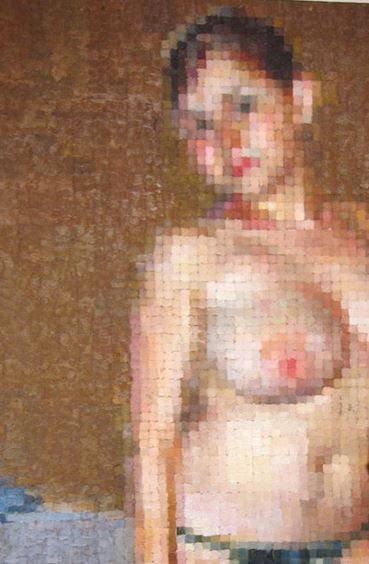 Mosaic Erotic Art
