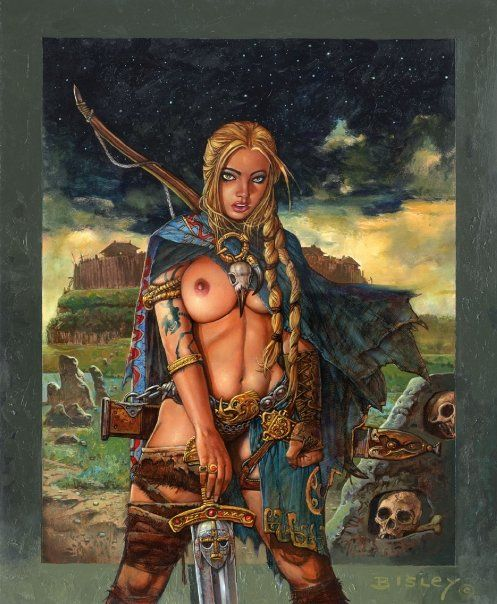 Nude Barbarian Blonde