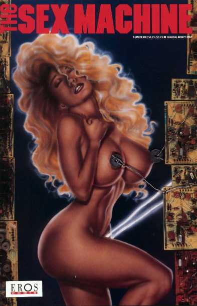 cyber goddess virtual porn underground comic book cover